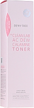Perfumería y cosmética Tónico de limpieza facial seborregulador con extracto de centella asiática y calamina - Dewytree The Clean Lab AC Dew Calamine Toner