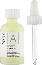 Perfumería y cosmética Concentrado facial con vitamina A - SVR [A] Ampoule Lift Smoothing Concentrate