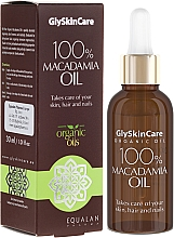 Perfumería y cosmética Aceite para piel, cabello y uñas de macadamia 100% natural - GlySkinCare Macadamia Oil 100%