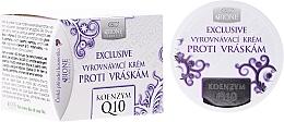 Perfumería y cosmética Crema facial antiedad con aceite de coco y coenzima Q10 - Bione Cosmetics Exclusive Organic Smoothing Anti-Wrinkle Cream With Q10