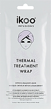 Perfumería y cosmética Tratamiento térmico hidratante en formato turbante - Ikoo Infusions Thermal Treatment Wrap