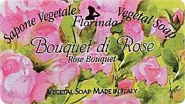 Perfumería y cosmética Jabón artesanal vegetal con rosas - Florinda Sapone Vegetale Vegetal Soap Rose Bouquet