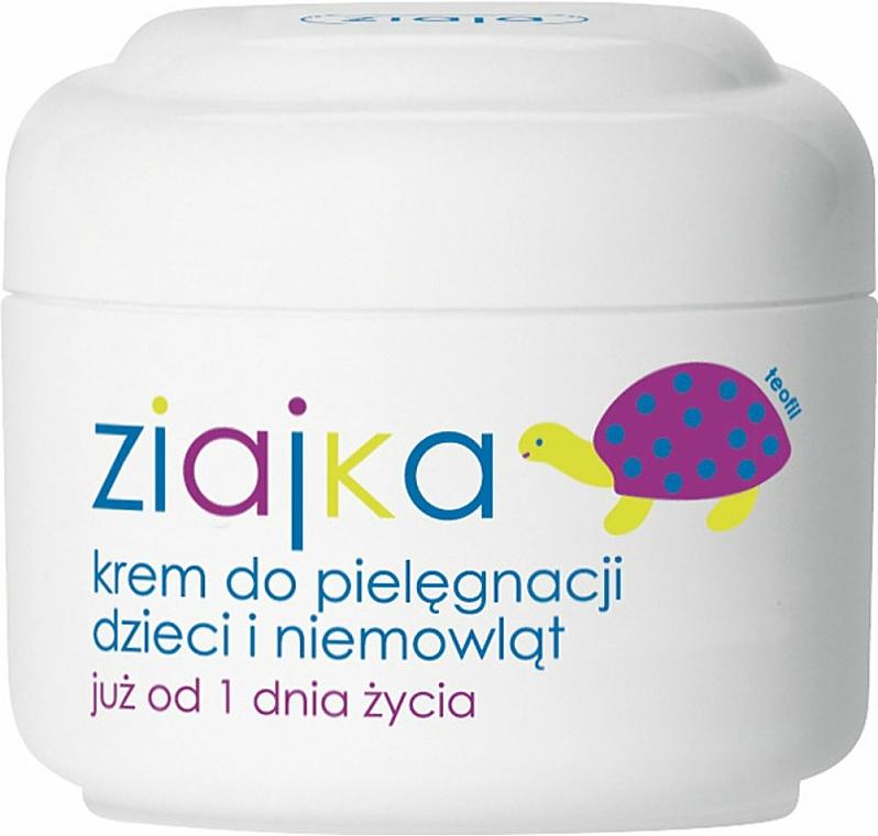 Crema corporal para bebés y niños con D-pantenol y vitamina E - Ziaja Body Cream for Kids