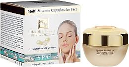 Perfumería y cosmética Tratamiento facial antiedad en cápsulas - Health And Beauty Multi-Vitamin Capsules For Face