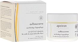 Perfumería y cosmética Crema regeneradora con aceite de almendras, oliva y soja - Apeiron Regenerating Day Cream