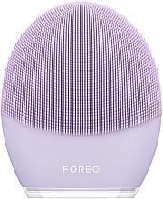 Perfumería y cosmética Cepillo de limpieza facial y masaje para pieles sensibles, lila - Foreo Luna 3 for Sensitive Skin