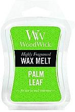 Perfumería y cosmética Cera para lámparas aromáticas, hoja de palmera - WoodWick Wax Melt Palm Leaf