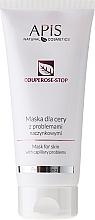 Perfumería y cosmética Mascarilla facial con extracto de ginkgo, kiwi y gavanza - APIS Professional Couperose-Stop Mask