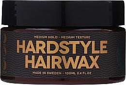 Perfumería y cosmética Cera para cabello de fijación elástica sin grasa - Waterclouds Hardstyle Hairwax