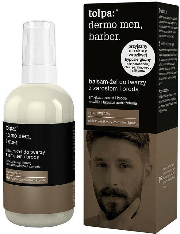 Bálsamo facial suavizante para bigote y barba - Tolpa Dermo Men Barber