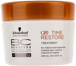 Mascarilla capilar con coenzima Q10 - Schwarzkopf Professional BC Bonacure Time Restore Q10 Plus Treatment  — imagen N1