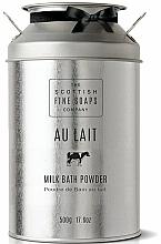 Perfumería y cosmética Leche en polvo para baño - Scottish Fine Soaps Au Lait Milk Bath Powder