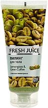 Perfumería y cosmética Exfoliante corporal con citronela & café verde - Fresh Juice Lemongrass Green Coffee
