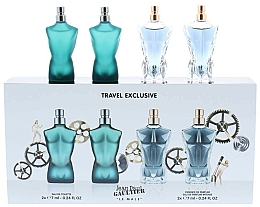 Perfumería y cosmética Jean Paul Gaultier Le Male - Set (eau de toilette/mini/2uds./7ml + essence de parfum/mini/2uds./7ml)