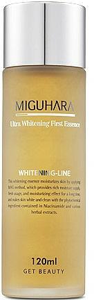 Esencia facial iluminadora con extracto de camomila - Miguhara Ultra Whitening First Essence