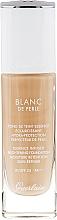 Perfumería y cosmética Base de maquillaje iluminadora de larga duración con efecto mate, SPF 25 - Guerlain Blanc De Perle Essence Infused Brightening Foundation SPF 25