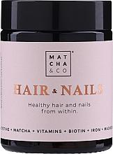 Perfumería y cosmética Complemento alimenticio en cápsulas para el fortalecimiento del cabello y uñas - Matcha & Co Hair & Nails Capsules