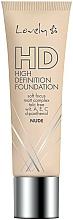 Perfumería y cosmética Base de maquillaje con vitamina A, E y C - Lovely HD Fluid