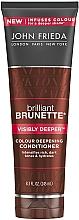 Perfumería y cosmética Acondicionador para tonos oscuros - John Frieda Brilliant Brunette Visibly Deeper Conditioner