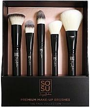 Perfumería y cosmética Set brochas de maquillaje - Sosu by SJ Premium Makeup Brushes (5 uds.)