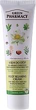 Perfumería y cosmética Crema relajante para pies cansados con extracto de castaña - Green Pharmacy