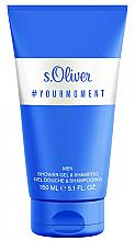 Perfumería y cosmética S.Oliver #Your Moment - Gel de ducha y champú para hombre