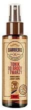 Perfumería y cosmética Tónico para rostro y barba con hidrolato de té verde, trehalosa y glicerina - Barbero Beard and Face Tonic