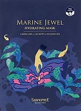 Perfumería y cosmética Mascarilla facial de tejido hidratante con extractos marinos y ácido hialurónico - Shangpree Marine Jewel Hydrating Mask