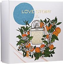Perfumería y cosmética Chloe Love Story - Set(eau de parfum/50ml + loción corporal/100ml)