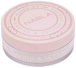 Perfumería y cosmética Polvo fijador de maquillaje cocido - Nabla Close-Up Baking Setting Powder