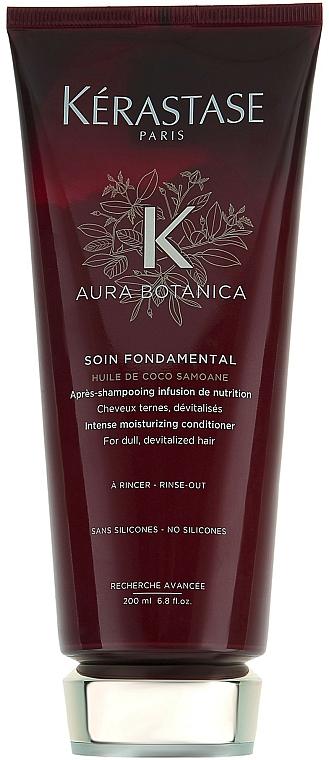 Acondicionador para cabello opaco y desvitalizado con aceite de coco y argán - Kerastase Aura Botanica Soin Fondamental Conditioner