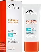Perfumería y cosmética Fluido protector solar facial, SPF 30 - Anne Moller Double Care Ultralight Facial Protection Fluid SPF30