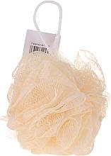 Perfumería y cosmética Esponja de malla, amarilla - IDC Institute Design Mesh Pouf Bath Sponges