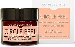 Perfumería y cosmética Exfoliante para contorno de ojos y labios con ácido azeláico y extracto de calabaza - Surgic Touch Circle Peel Eye Contour And Lip Peel