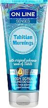 Perfumería y cosmética Exfoliante corporal con arena volcánica & aceite de macadamia - On Line Senses Body Scrub Tahitian Morning