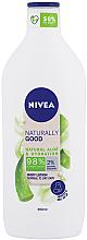 Perfumería y cosmética Loción corporal con aloe vera para piel normal a seca - Nivea Naturally Good Body Lotion