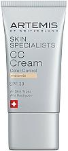 Perfumería y cosmética Crema CC con extracto de oliva - Artemis of Switzerland Skin Specialists CC Cream