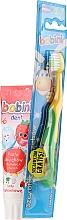 Perfumería y cosmética Set dental - Bobini 1-6 (cepillo dental + pasta dental/75ml)