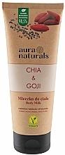 Perfumería y cosmética Leche corporal, chía y bayas de goji - Aura Naturals Chia & Goji Body Milk