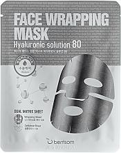Perfumería y cosmética Mascarilla facial bifásica con ácido hialurónico - Berrisom Face Wrapping Mask Hyaluronic Solution