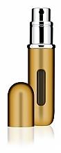 Perfumería y cosmética Atomizador recargable, vacío - Travalo Classic HD Easy Fill Perfume Spray Gold