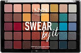 Perfumería y cosmética Paleta de sombras de ojos - NYX Professional Makeup Swear By It Shadow Palette
