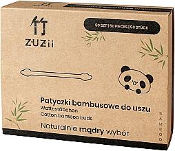 Perfumería y cosmética Bastoncillos de bambú con diferentes puntas - Zuzii