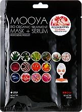 Perfumería y cosmética Mascarilla sérum de manos con proteína de seda - Beauty Face Mooya Bio Organic Treatment Mask + Serum