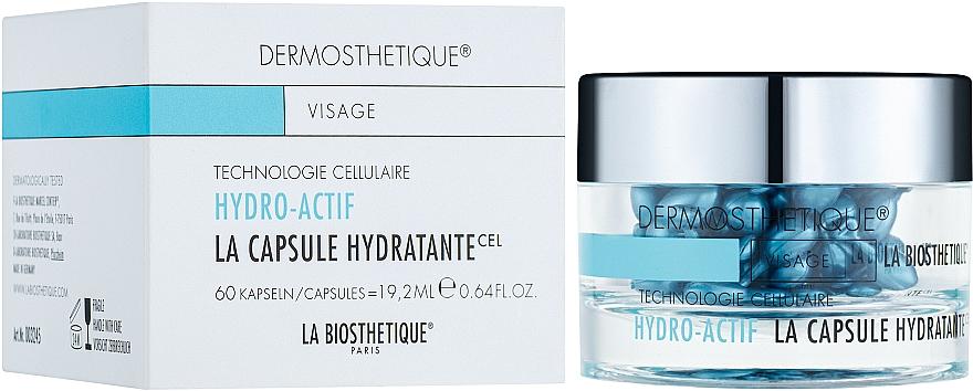 Cápsulas de gel hidrolipídico para pieles deshidratadas - La Biosthetique Dermosthetique Hydro-Actif La Capsule Hydratante