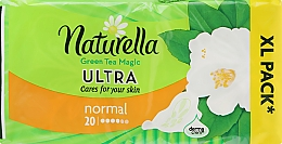 Perfumería y cosmética Compresas con alas y té verde, 20 uds. - Naturella Green Tea Magic