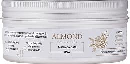 Perfumería y cosmética Manteca corporal, rosa - Almond Cosmetics Rose Body Butter