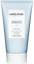 Perfumería y cosmética Gel facial limpiador con extracto de saúco negro y jugo de aloe vera, vegano - Estelle & Thild Biocleanse Multi-Action Cleansing Gel