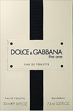 Perfumería y cosmética Dolce&Gabbana The One - Set (eau de toilette/50ml + eau de toilette roll-on/mini/7.4ml)