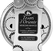 Perfumería y cosmética Tesori d`Oriente White Musk - Vela aromática, almizcle blanco